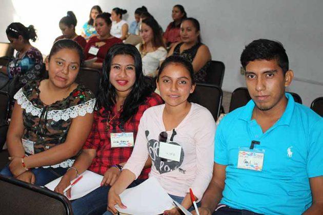 Nancy Gutiérrez, Luz García, Wendy Córdova, Raúl Martínez.
