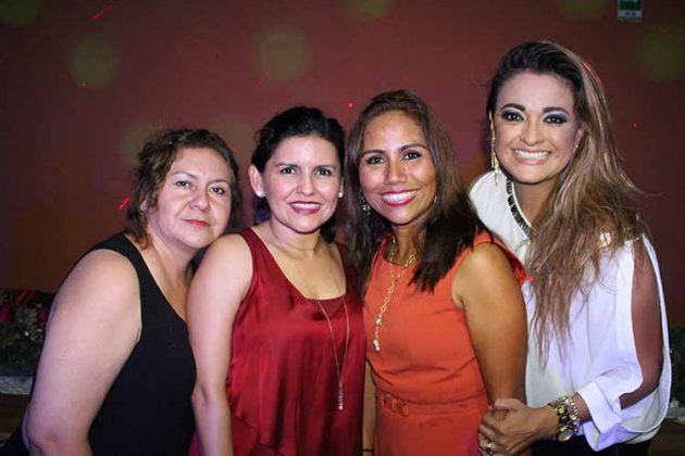 Edith Ballinas, Liliana Monzón, Ángeles Hernández, Eréndira Olguín.