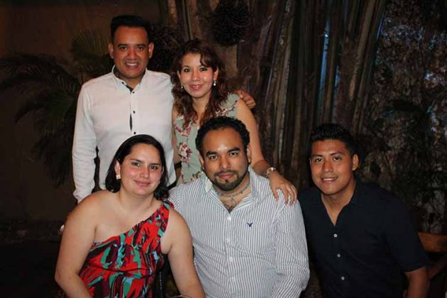 José Tovar, Fernando Ochoa, Gabriel Baltierra, Judith Medinilla, Claudia Valenti.