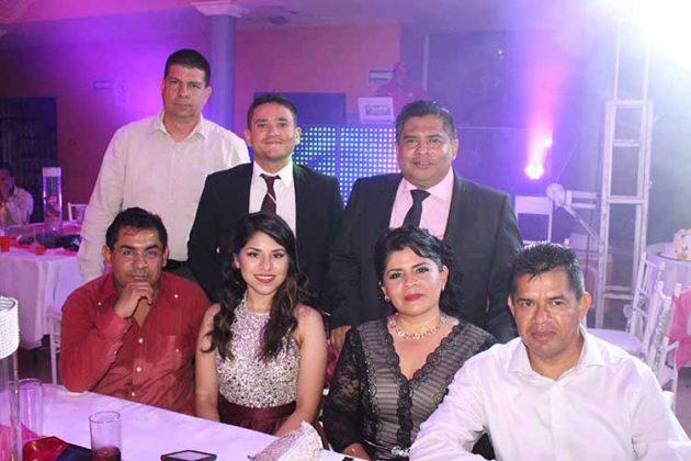 Rosalio, Patricia Morales, Jorge Ríos, Ana Vázquez, René Zapata, Raúl Cossío, Fidias Morales.