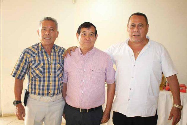 José, Francisco, David Choy.