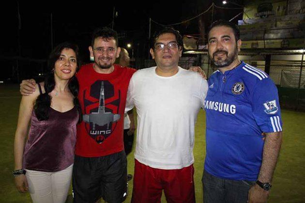 Sandra González, Sergio Ocampo, Efrén Ávila, Carlos Archila.