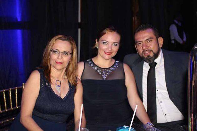 Mercedes Marín, Alejandra, Denny López.