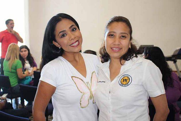 Daniela Hidalgo, Tania Mora.