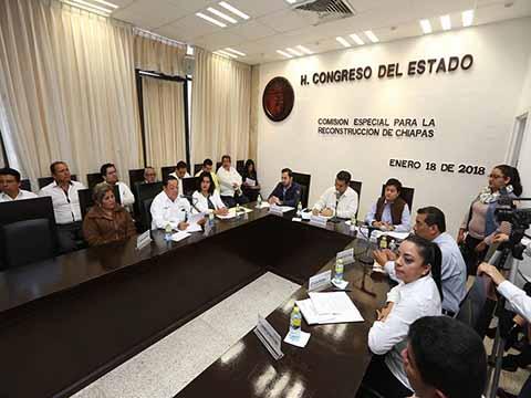 Garantiza Secretario de Educación Atención a Escuelas de Chiapas Afectadas por el Sismo