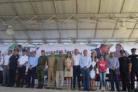 Inician las Jornadas Sociales Itinerantes en Cacahoatán