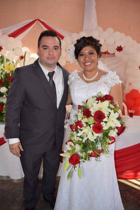 Carlos García & Rocío Reyes.