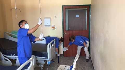 Por Corto Circuito Evacuan a Pacientes del Instituto Mexicano del Seguro Social