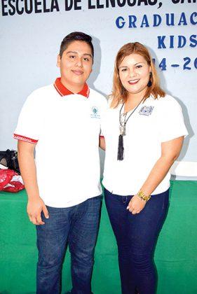 Andrick Guevara Mora, Eunice Salas