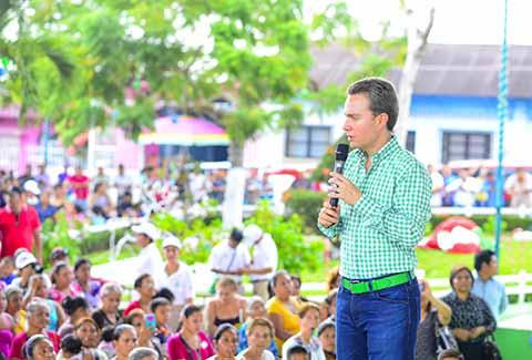 Agradece Manuel Velasco Donaciones de PEMEX a Chiapas en 2016