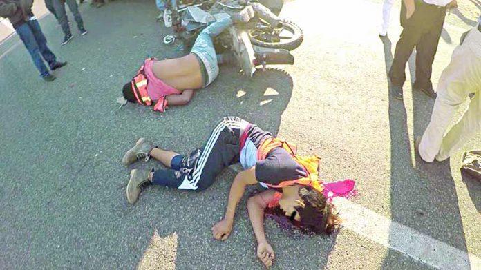 Muere Motociclista en Choque por Alcance