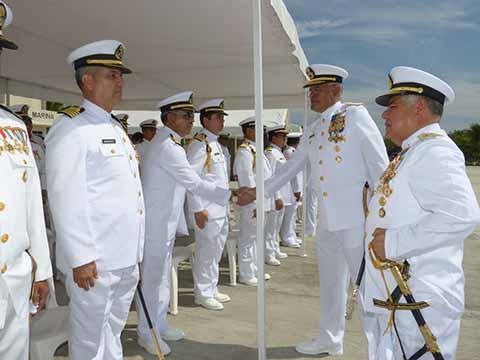 Mario Carvajal Ramírez Nuevo Comandante de la XIV Zona Naval