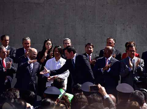 Osorio Chong se Despide de Gobernación Buscará Senaduría por el Estado de Hidalgo