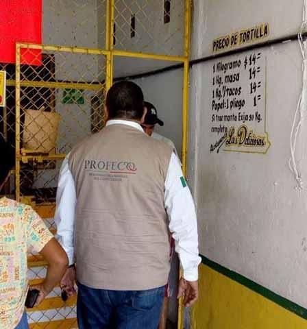 Profeco Monitorea Tortillerías Para Evitar Aumento de Precios