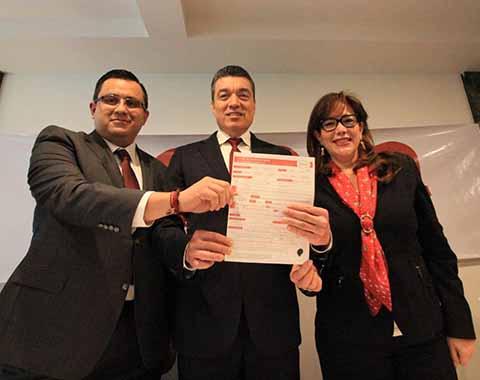 El precandidato inicia hoy campaña en el municipio de Salto de Agua.