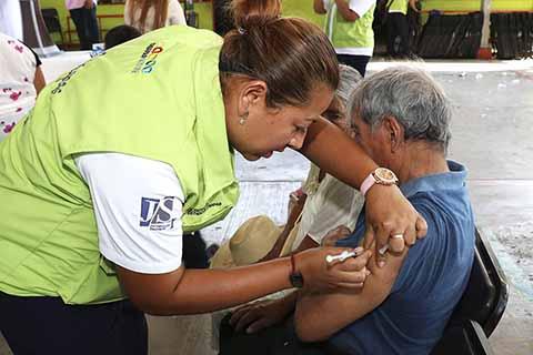 Secretaría de Salud Lleva un Avance del 72 % en Vacunación Antiinfluenza