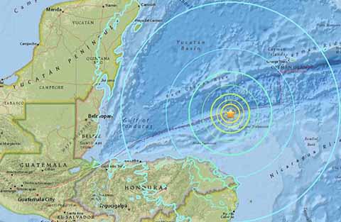 Terremoto de 7.8 Grados Sacude Honduras; Alerta de Tsunami en México y Centroamérica