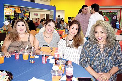 Daniela Villanueva, Georgina Solís, Susi Castillo, Yatz Mejía.