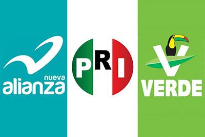 PRI-PVEM-PANAL Irán en Coalición con Albores Para Competir Por la Gubernatura de Chiapas