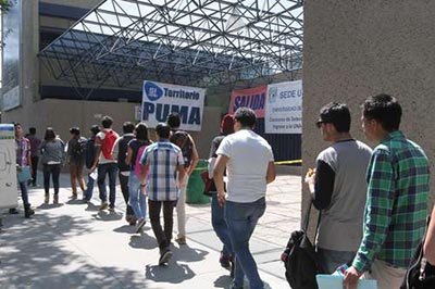 Realiza UNAM Primer Examen de Ingreso Para el Ciclo 2018-2019