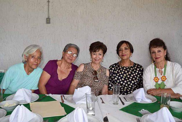 Paquita Ramos, Victoria Joo, Silvia Joo, Ana Jiménez, Dalila Rojas.