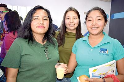 Wendy Saucedo, Itzel Alfaro, Karla Cruz.