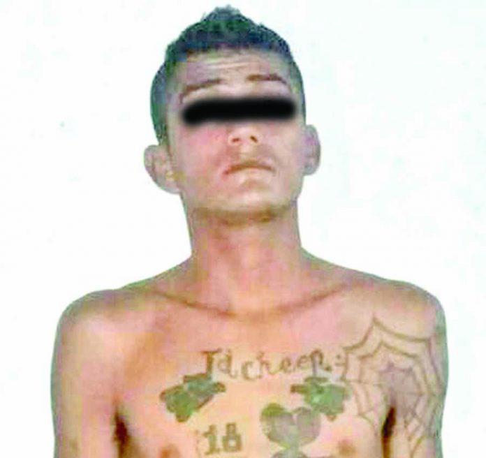 Detienen a Barrio 18 por Homicidio