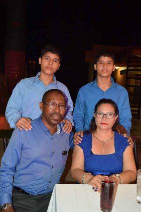 Familia Ebanks Lacayo.