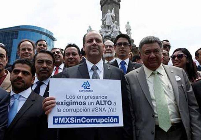 Corrupción e Inseguridad, Principales Problemas en México: COPARMEX