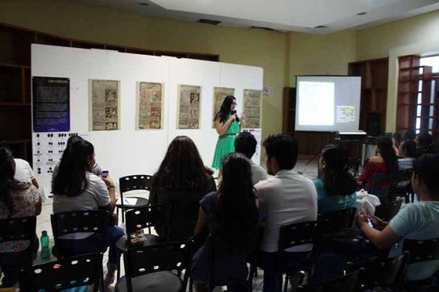 Irene Gálvez, dictó la charla.