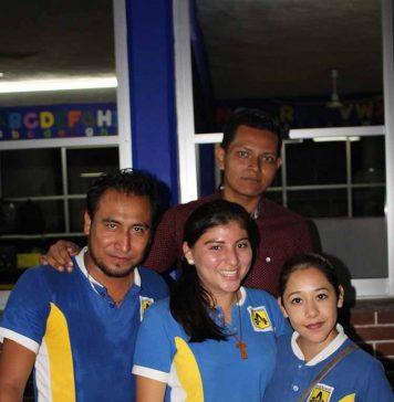 Hugo González, Nahari Nájera, Yamileth Santos, José Espinosa, Hugo González.