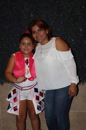 Allisson López, Janet García.
