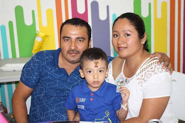 Familia López Zamora.