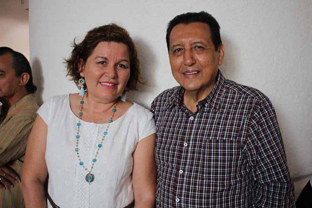 Norma Arellano, Mario Ruiz Redondo.