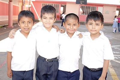 Ángel Roblero, Diego Coronado, Hugo Torres, Iván Osorio