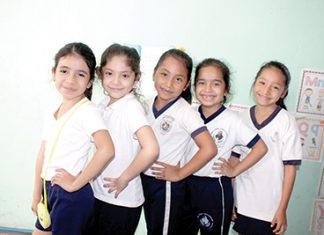 Génesis Notario, Ámbar Morales, Jazmín Morales, Karla Díaz, Valeria Díaz.