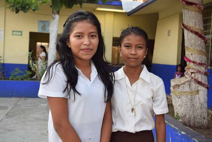 Jessica Díaz, Marily Valera.