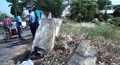 Sin Rehabilitar Infraestructura Urbana Dañada en Accidente