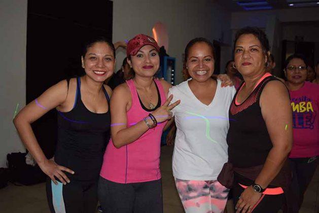 Danna López, Yanira Fernández, Erika Trinidad, Gina Barrios.