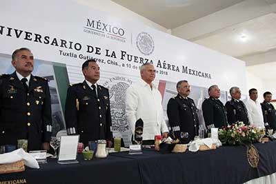 Reconoce FGE Compromiso y Lealtad de la Fuerza Aérea Mexicana