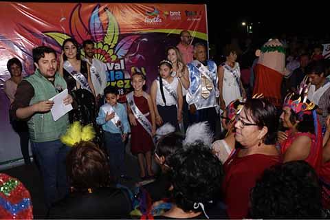 Anuncia Fernando Castellanos el Carnaval Tuxtla Gutiérrez 2018