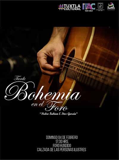 "Invita Fernando Castellanos a la ""Tarde de Bohemia"""