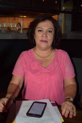 Teresa Anza, coordinadora de Agenda Cultural y Eventos Especiales.