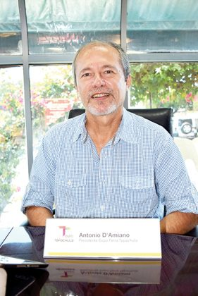 Antonio D´Amiano Gregonis, presidente de la Expo Feria Tapachula.