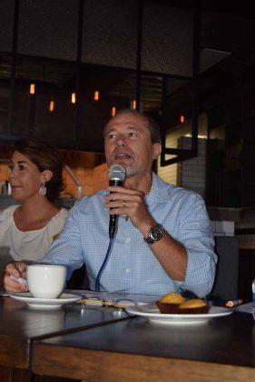 Antonio D´Amino Gregonis, presidente de la EFT 2018.