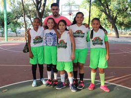 Actividad en el Basquetbol Infantil