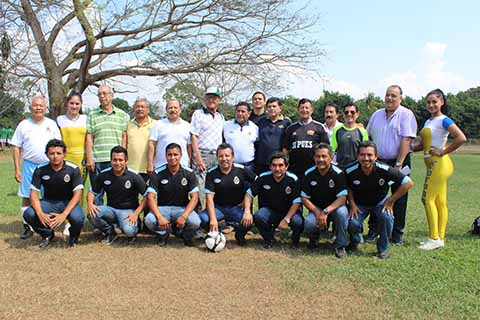 Inauguran XXXVI Campeonato en la Liga