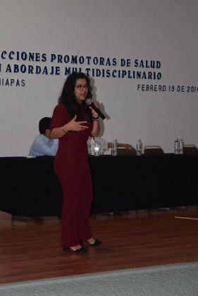 Mónica Hurtado González, conferencista.