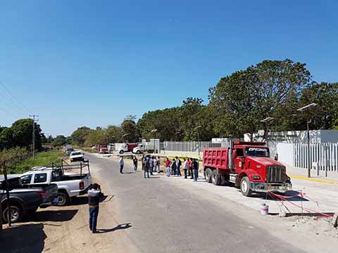 Paralizan Obra del Centro de Justicia Penal en Tapachula