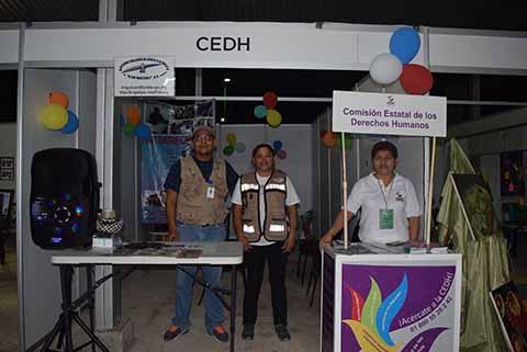 Listo El Pabellón Institucional de la Expo Feria Tapachula 2018.